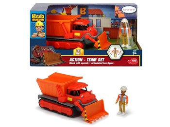 Dickie Toys Bob the Builder - Muck ve Leo - Team Muck