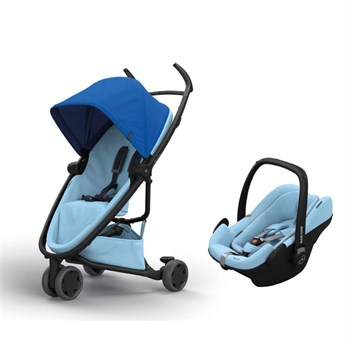 Quinny Zapp Flex Travel Sistem Bebek Arabası / Blue On Sky