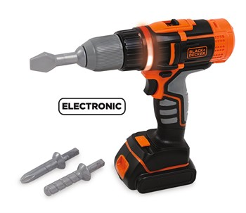 Smoby Black+Decker Pilli Matkap 360106